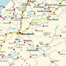 Northern Africa Map by Map Of Morocco Maps And Directions At Map