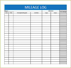 mileage report template mileage log form free fieldstation co