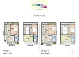 row house plans serene hub retirement row houses and villas in chennai
