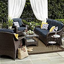 outdoor sitting patio conversation sets outdoor seating sets sears