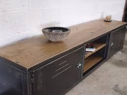 meuble bas chambre meubles bas chambre meuble bas de style industriel acier et bois