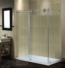 Frameless Bathroom Doors Surprising Frameless Shower Doors Lowes 97 About Remodel Elegant