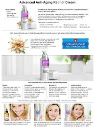 amazon com night retinol cream natural swiss anti aging formula