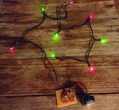 red and white alternating led christmas lights blinking christmas lights build electronic circuits