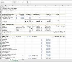 Property Valuation Spreadsheet Real Estate Professional Developer U0027s Excel Tool Kit Template