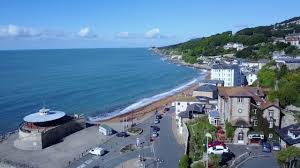 drone video art deco and seaside in ventnor isle of wight youtube