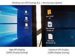 high dpi scaling improvements for desktop applications in the