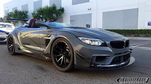 bmw z4 e bulletproof automotive bmw z4 gt continuum stands out at sema 2015