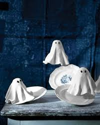 how to make a halloween ghost decoration halloween ghost decorations martha stewart