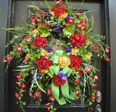 large summer wreath front door wreath big by luxewreaths
