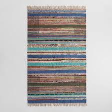5 u0027x8 u0027 block print cotton chindi jayla area rug world market