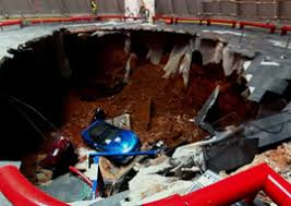 corvette museum collapse corvettes in a cave applying geophysics to a car tragedy