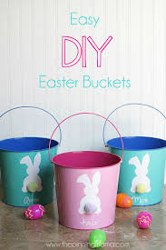 painted easter buckets 20 easter basket ideas easter gifts for kids and