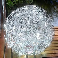 outdoor light led solar aluminium wire lights co uk