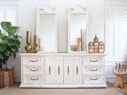 Shabby Chic Credenza by Shabby Chic Boho Chic Vintage Dresser Buffet Cabinet Credenza