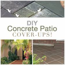 Ideas For Concrete Patio Diy Ideas To Update Your Worn Out Concrete Patio U2013 Home And Garden