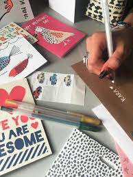 pens that write on black paper the big idea write on lucky our friends our families and our fans writing 30 letters in 30 days during april national letterwriting month