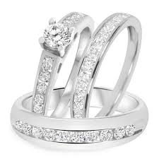 cheap bridal sets wedding rings bridal sets 1000 princess cut engagement