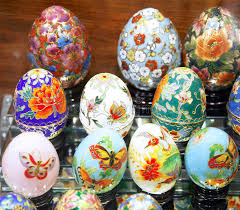 easter eggs for sale beautiful easter eggs for sale editorial photography image of