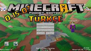 mc pe apk minecraft pe 0 15 0 apk türkçe dil kacp texture pack mcpe türkçe