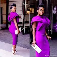 south african dubai high neck purple prom cocktail dress 2017