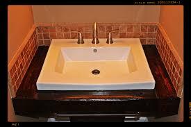 photos hgtv transitional bathroom with warm mosaic tile backsplash