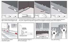 how to install express laminate flooring