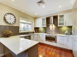 Small U Shaped Kitchen With Breakfast Bar - kitchen awesome small u shaped kitchen remodel ideas with purple