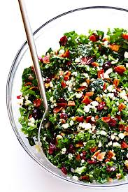 kale salad with bacon and blue cheese gimme some oven