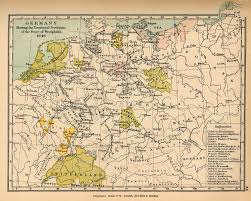 Map Of Belgium And Germany Public Schools Historical Atlas By C Colbeck Perry Castañeda