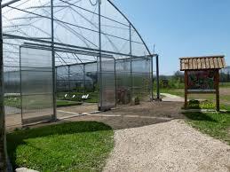serre horticole en verre lycée agricole la tour du pin