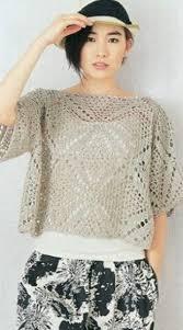 crochet blouses square motif crochet blouse pattern crochet kingdom