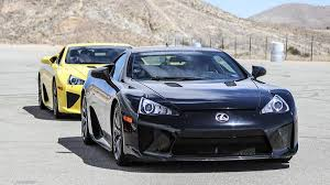 lexus supercar lfa lexus lfa willow springs autoweek