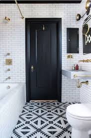 Interior Bathroom Door How To Make Black Interior Doors Work For You Hunker
