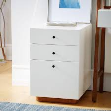 modern file cabinet west elm