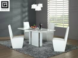 modern dining table setting ideas modern white dining table and