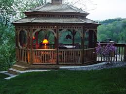 12x12 Patio Gazebo Ideas Screened Gazebo For Stylish Pergola Design Ideas