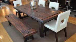 Dining Room Table Bench Diy 40 Bench For The Dining Table Shanty 2 Chic Stylish Intended