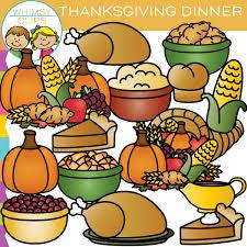 clipart thanksgiving dinner