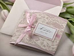 vintage lace wedding invitations custom listing 20 patel pink ecru lace wedding invitation