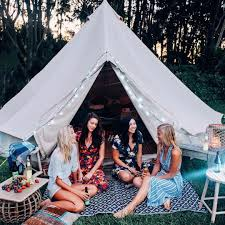 taking camping to a boss level glamping elsas wholesomelife