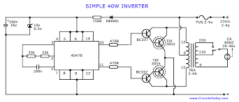 3 cfl ups inverter circuit diagram circuit diagram images