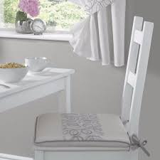 Urban Kitchen Products - urban modern embroidered kitchen curtains silver ready made