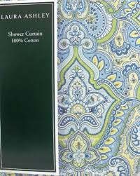 Blue And Yellow Shower Curtains Maiden Blue Green Yellow White Paisley