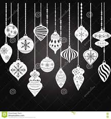 chalkboard ornaments balls decorations