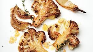 parmesan roasted cauliflower recipe bon appetit