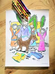 palm sunday donkey coloring coloring page u2013 children u0027s ministry deals