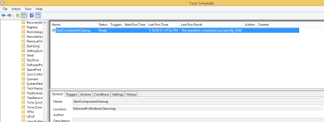 how to schedule a task in windows how to reduce the size of the winsxs directory and free up disk