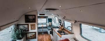 Airstream Custom Interiors Airstream Interior Remodel Archives Trendxyz
