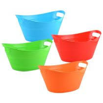 bulk plastic storage tubs with handles at dollartree